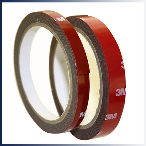 3m Double Sided Adhesive Tape Multi Purpose 5mm 3meter Acrylic Foam Tape Red Ebay