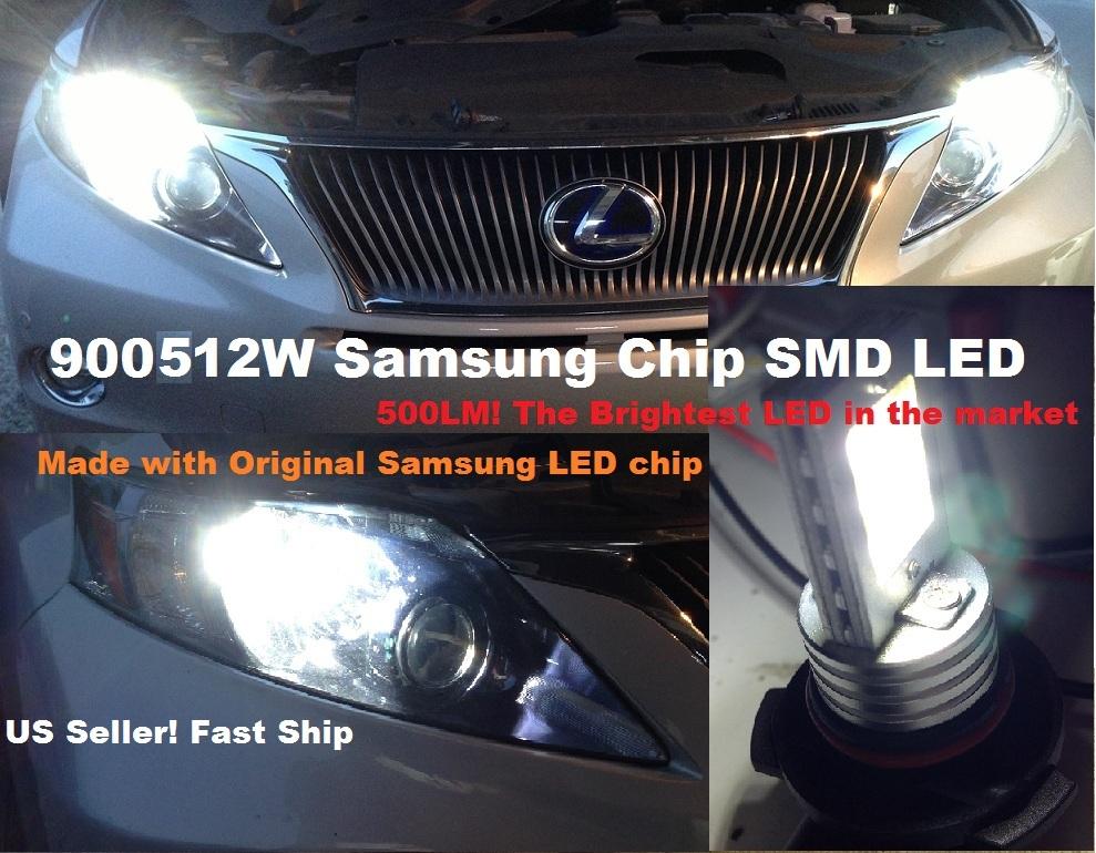 2 X 12W 9005 samsung Chip SMD LED bulb 500LM brightest