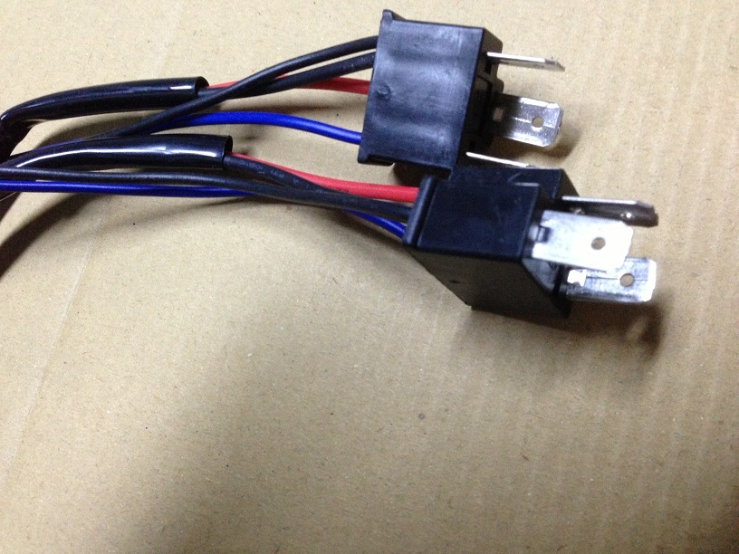 H4 9003 HB2 Wire Harness for HID ballast to stock socket